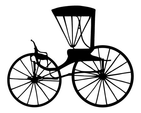 wagon wheel: Carriage Illustration
