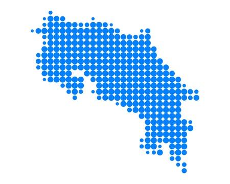 costa: Map of Costa Rica