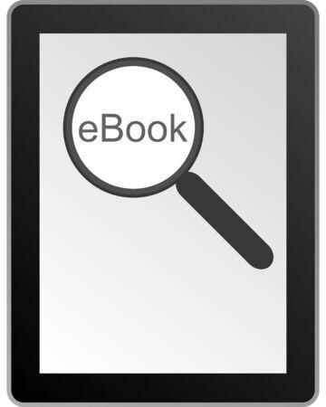 e book reader: ebook