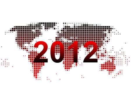 World map 2012 Vector