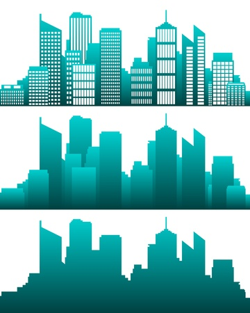 City skyline Stock Vector - 12932854