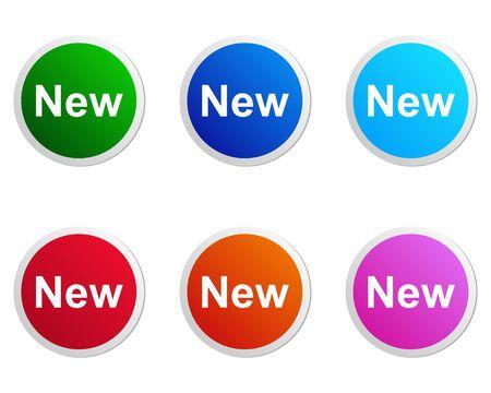 New label Stock Vector - 13248433