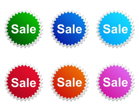 Sale label Stock Vector - 13311839