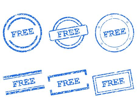 Free stamps Vector