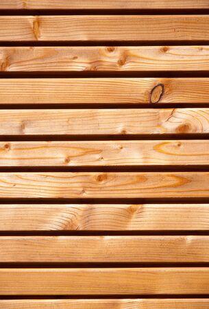 Wooden facing photo
