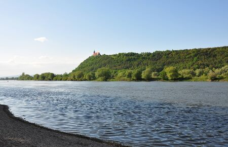 the danube: Danube with Bogenberg, Bavaria
