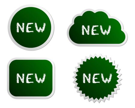 New buttons Vector