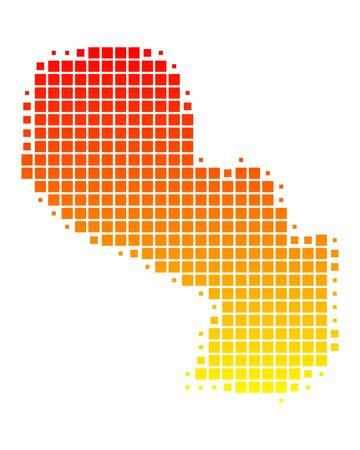 Paraguay: Carte du Paraguay