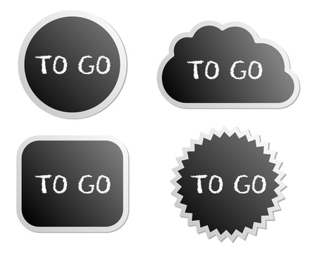 To go buttons Vector