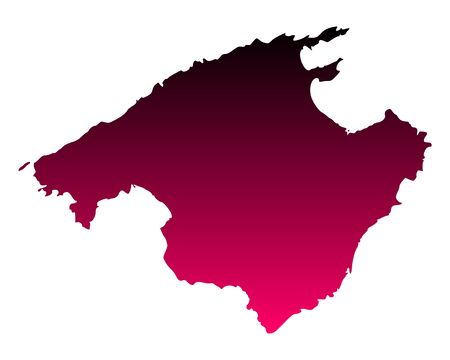 majorca: Map of Mallorca