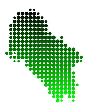 ios: Carte de Ios Illustration