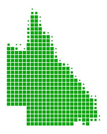 queensland: Map of Queensland
