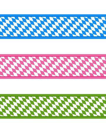 Bavarian ribbons Stock Vector - 15324457