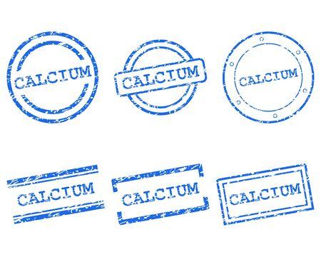 Calcium stamps Stock Vector - 15324717