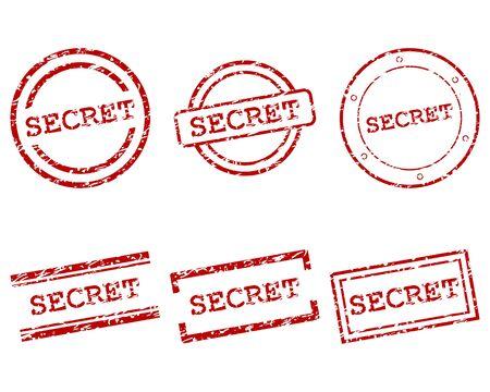Secret stamps Stock Vector - 15324725