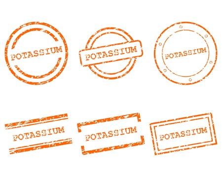 potassium: Potassium stamps