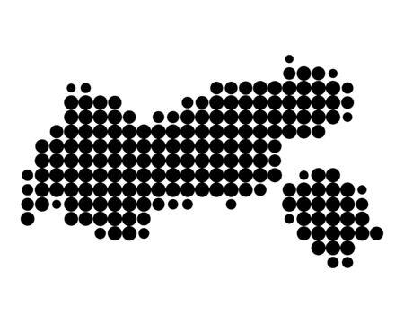 チロル: チロル州の地図