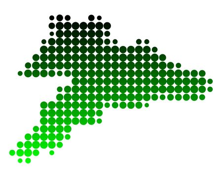 jura: Map of Jura Illustration