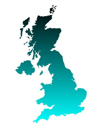Map of United Kingdom Stock Vector - 15999656