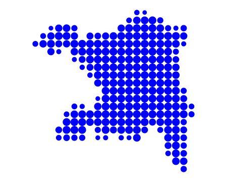 canton: Map of Aargau