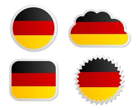 bandera alemania: Bandera de Alemania etiquetas