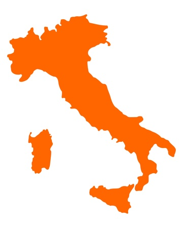 italy map: Map of Italy