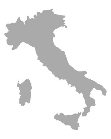 Map of Italy Stock Vector - 17222126