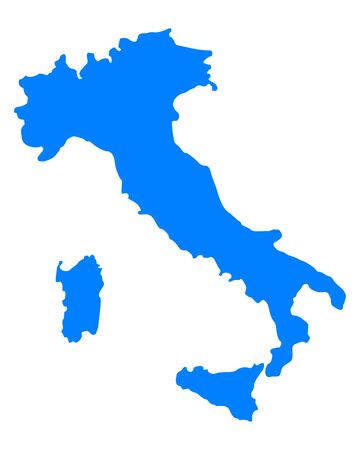 Map of Italy Stock Vector - 17246488