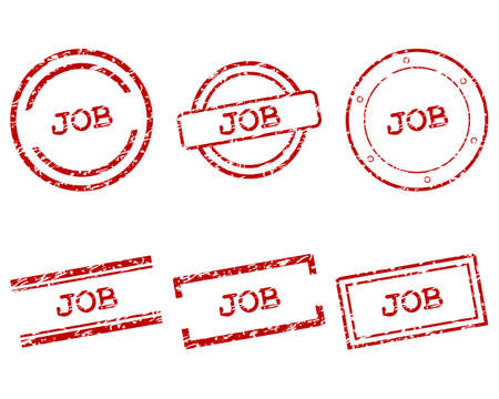 Job stamps Stock Vector - 17570733