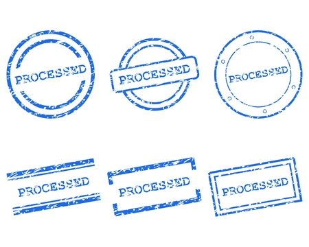 processed: Processed stamps