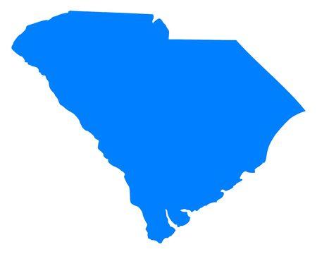 carolina del sur: Mapa de Carolina del Sur