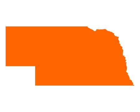 nebraska: Map of Nebraska