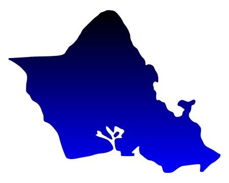 oahu: Map of Oahu