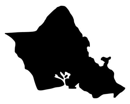 oahu: Map of Oahu