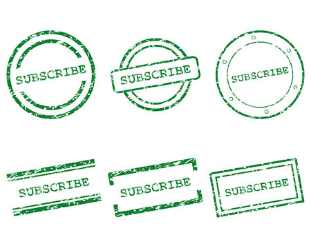 subscribe: Subscribe stamps