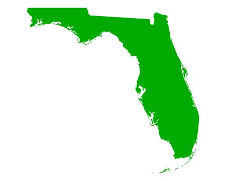 Kaart van Florida