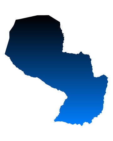 paraguay: Map of Paraguay