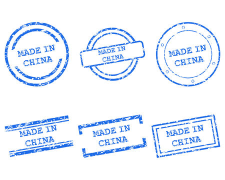 china stamps: Made in China stamps