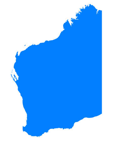 western state: Map of Western Australia