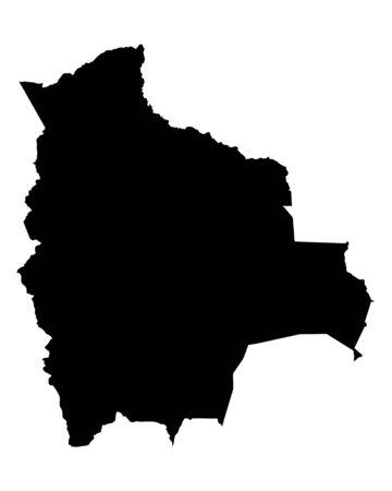 mapa de bolivia: Mapa de Bolivia Vectores