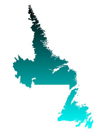newfoundland: Map of Newfoundland and Labrador