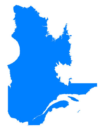 quebec: Map of Quebec