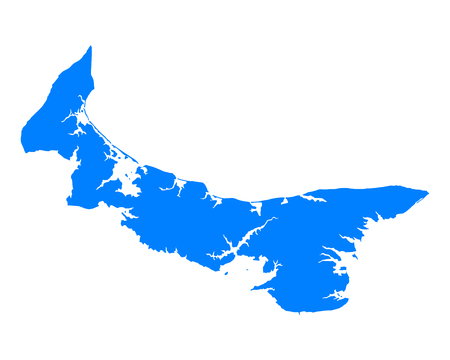 edward: Map of Prince Edward Island