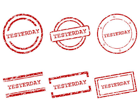 yesterday: Yesterday stamps