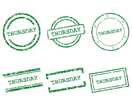 thursday: Thursday stamps