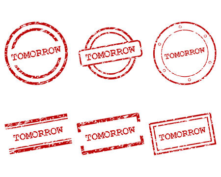 tomorrow: Tomorrow stamps