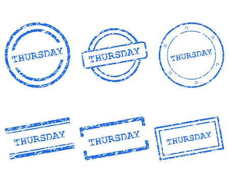 thursday: Thursday stamps