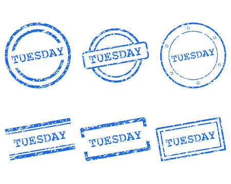 tuesday: Tuesday stamps