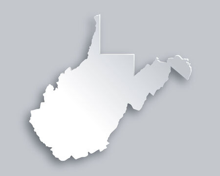 virginia: Map of West Virginia