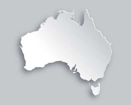 geography map: Map of Australia